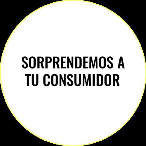 Sorprendemos a tu consumidor.