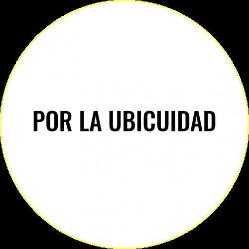 POR LA UBICUIDAD