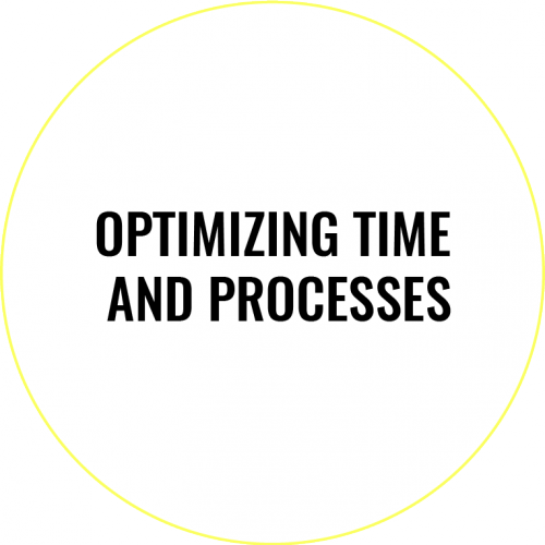 We provide you with everything you need Optimizing time and processes
